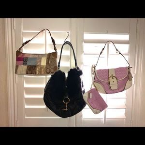 Set of Coach bags!